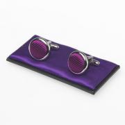 Manschettenknöpfe violett