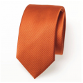 Schmale Krawatte in dunkelorange