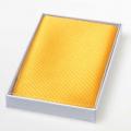 Seideneinstecktuch - gelb