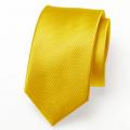 Schmale Krawatte grellgelb