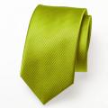Schmale Krawatte lime