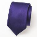 schmale violette Krawatte